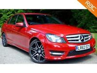 2012 62 MERCEDES-BENZ C CLASS 2.1 C220 CDI BLUEEFFICIENCY AMG SPORT PLUS 7G-TRON