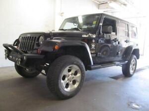 2013 Jeep Wrangler Unlimited Sahara w/Dual Tops, Automatic and A