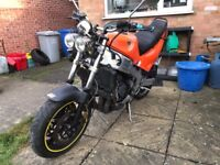 Yamaha FZR 1000 street fighter project streetfighter