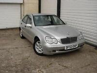 2003 53 Mercedes-Benz C180 Kompressor 1.8 Auto Classic SE **Full Service History