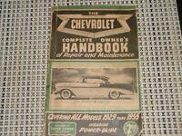 Complete Chevrolet Owner's Handbook 1929-1955