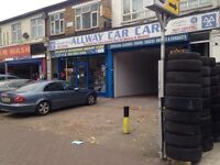 Garage, MOT station and parts shop to for sale. Very busy main road location.