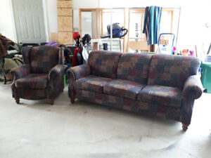 Excellent Sofa and Chair For Sale