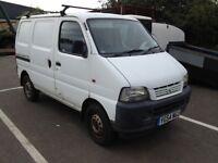 2004 suzuki carry van no mot spares repair 74k