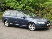 2008 Volvo V70 2.4D SE D5 Manual 6 Speed Diesel Estate 163 bhp Barents Blue
