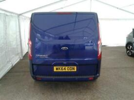 2014 FORD TRANSIT CUSTOM 290 TDCI 155 L1 H1 LIMITED DOUBLE CAB 5 SEAT CREW VAN F