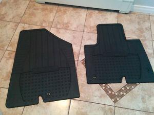 Hyundia Santa fe rubber winter mats