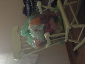 3 garbage bags full of girl clothes (12-18 mos)