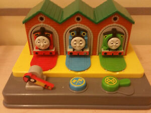 Thomas the Train Pop Up Toy and Push Along Train