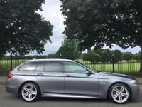 2011 61 BMW 5 SERIES 2.0 520D M SPORT TOURING 5D AUTO 181 BHP DIESEL