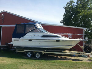 1991 Doral Cavalier 24' Powerboat with Trailer FOR SALE Windsor Region Ontario image 1