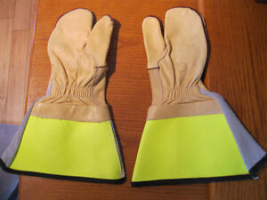 LEATHER WORKING GLOVE/MITS