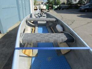 3 classics in 1 package Canoe/trailer/motor $1850
