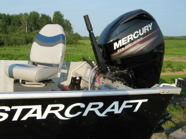2014 Starcraft 16 ft deep haul