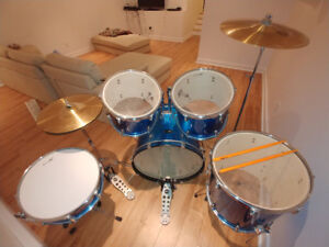 Almost New - Basix Drum Set