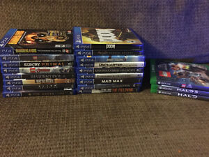 PS4 ( PlayStation 4 ) / Xbox One Games For Sale