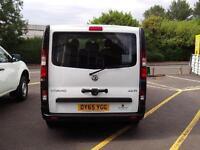 Vauxhall Vivaro 9 Seater Combi Cdti DIESEL MANUAL WHITE (2015)