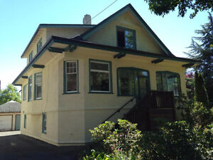 Bright, Clean 7 Bedroom Home right Downtown Victoria