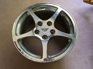 Set of 4 Corvette Rims