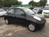 Nissan Micra 1.2 S 2004 Petrol Automatic 5 Doors- Low Mileage-1 Owner