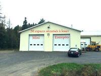 Batisse industrielle et Mini-entrepôt