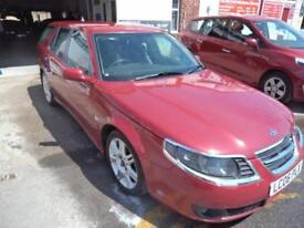 Saab 9-5 2.0t AUTOMATIC 2006MY ESTATE VECTOR HALF BLACK LEATHER SUPERB CONDITION