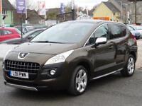 2011 Peugeot 3008 1.6 e-HDi FAP Exclusive SUV EGC 5dr