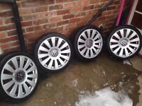 Vw/Audi 18inch alloy wheels