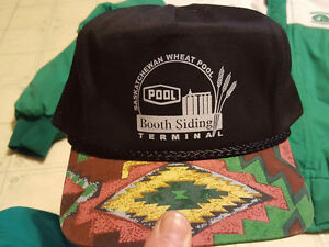 3 Saskatchewan Wheat Pool hats