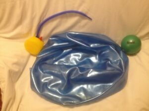 Large Inflatable Exercise Ball/Pump/Six Inch Exercise Ball