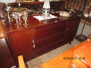 Gibbard Mahogany Buffet / large selection of other curio cabinet