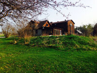 3200 sq foot house with barns, outbuildings