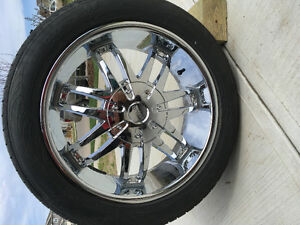 """Excellent condition 20"""" HELO rims & Toyo Proxes Rubber"""