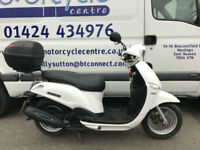 Yamaha XC 115 S DELIGHT Retro Style Scooter / Top Box / Delivery / Finance