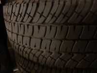 New set of (4) Michelin LXT A/T-2 Tires