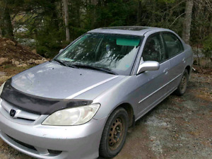 2005 civic 5 speed trade or cash