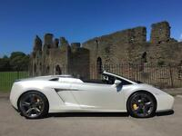 Lamborghini Gallardo Spyder 5.0 V10 520bhp E Gear **FSH - BRANDING PACK - NAV**