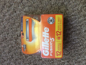 Three 12 Pack Razor Blades 49.99 new in package going for 25.00