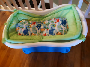 Summer infant right height baby bathtub