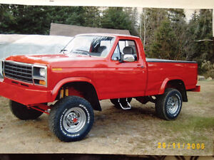 Ford F100 tres propre