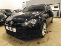 VOLKSWAGEN GOLF S TSI Black Manual Petrol, 2010