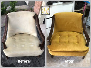 ***** Reupholstery Services *****