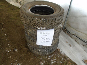 4 pneus d`hiver WINTER MARK P215/70/R14