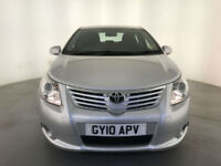 2010 TOYOTA AVENSIS TR VALVEMATIC AUTO 4 DOOR SALOON SERVICE HISTORY FINANCE PX