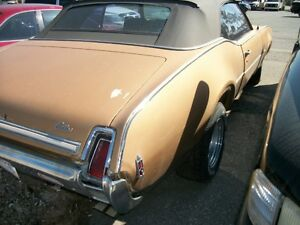 Olds Cutlass Convertible Project