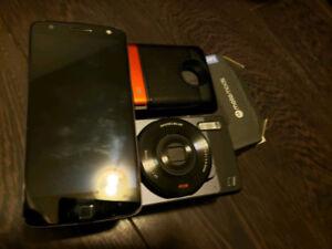 Moto Z, JBL Speaker, Hasselbald Camera