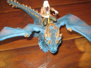 Schleich Dragon toy with man, and Ravensburger dragon puzzel St. John's Newfoundland image 3