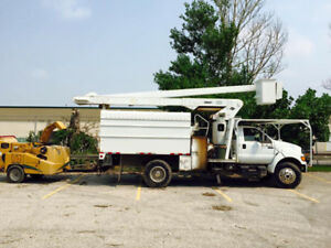 Forestry Unit with Chipper