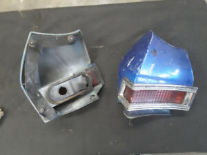 1968 Chevelle tail light housings and steering wheel  horn cover