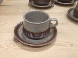 """Purbeck Pottery """"Portland """" Tea ,Coffee and dinner service"""